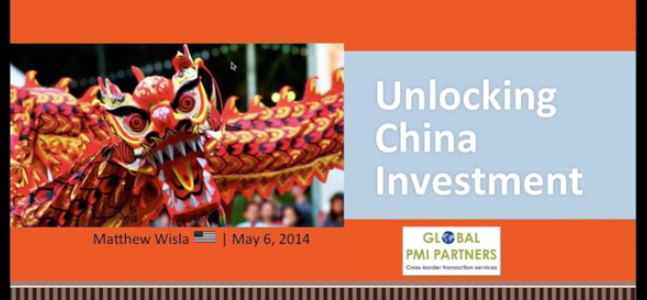 Available for Online Viewing: Unlocking China Investment