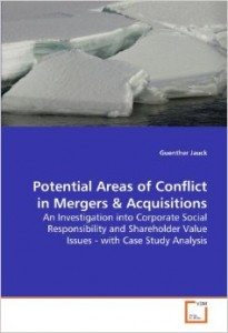 Potential Areas of Conflict