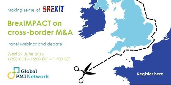 Webinar: BrexIMPACT on Cross-Border M&A