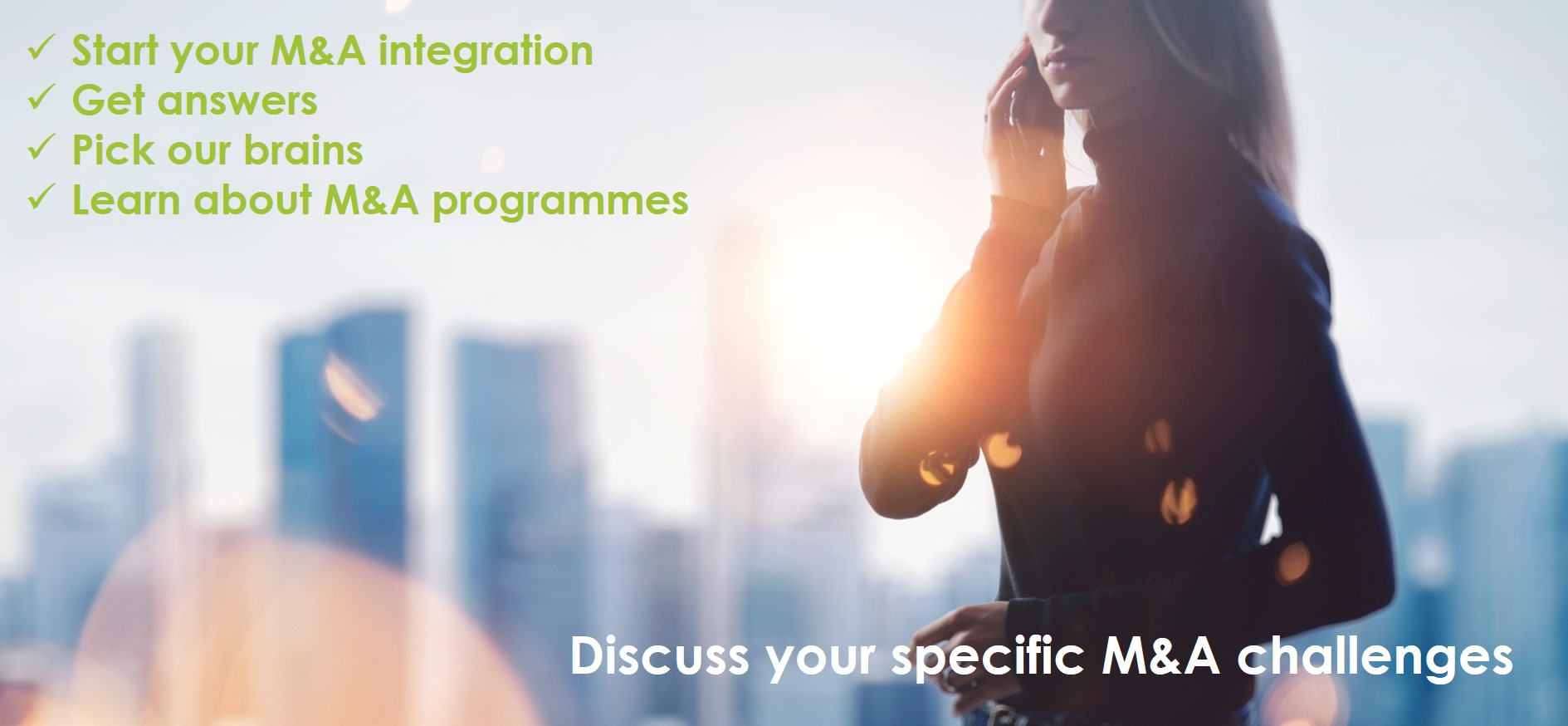 Free Integration Sessions
