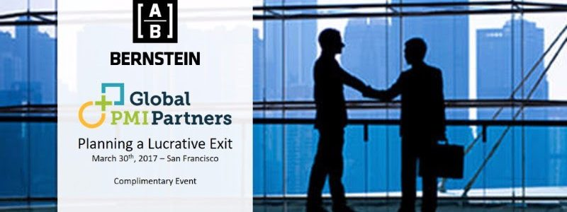 Planning a Lucrative Exit - San Francisco Luncheon and Panel Discussion