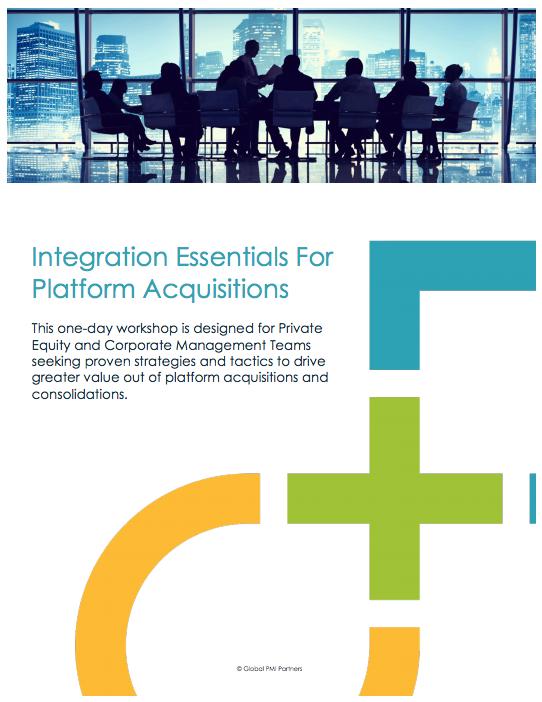 Integration Essentials For Platform Acquisitions 2