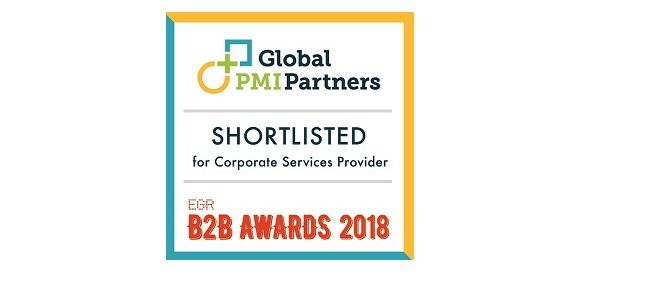 Global PMI Partners Shortlisted on EGR B2B Awards