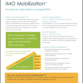 IMO Mobilization<span>℠</span> Brochure